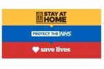 Stay Safe Stay Home Logo UK Government